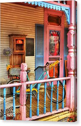Colors Of Metamora 1 Canvas Print by Mel Steinhauer