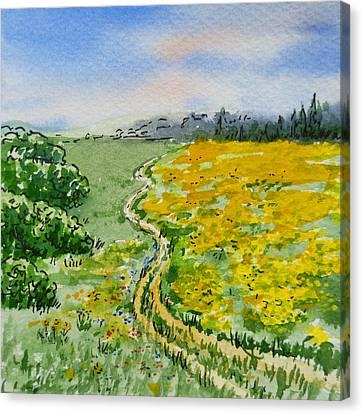 Colors Of Russia Summer Canvas Print by Irina Sztukowski
