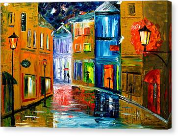 Colors Of The Night Canvas Print by Mariana Stauffer