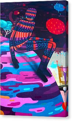 Colors Revolution Canvas Print by Laura Jimenez