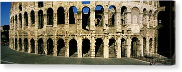 Colosseum Rome Italy Canvas Print by Panoramic Images