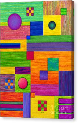 Combination Canvas Print by David K Small