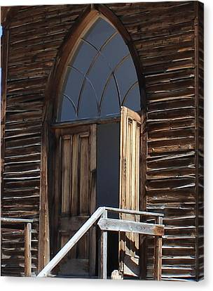 Come In And Pray Canvas Print by Mark Eisenbeil