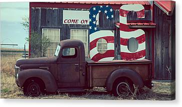 Come On 66 Canvas Print by Adam Caron