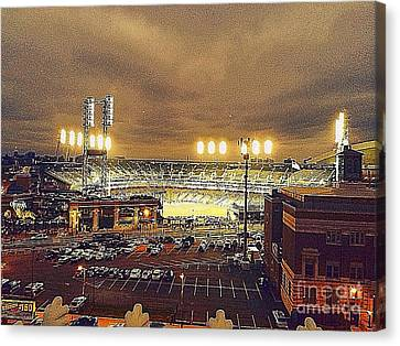 Comerica Night Game 2 Canvas Print by J S