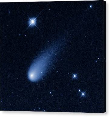 Comet Ison Canvas Print by Nasa