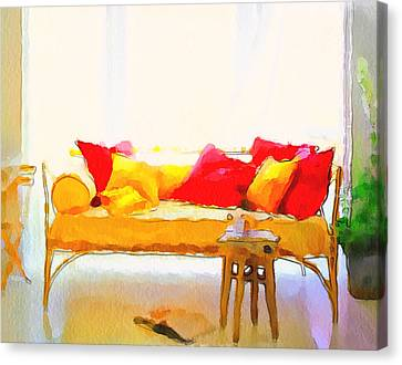 Comfort Style Canvas Print by Yury Malkov