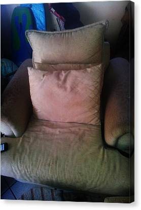Comfy Chair Canvas Print by Unique Consignment
