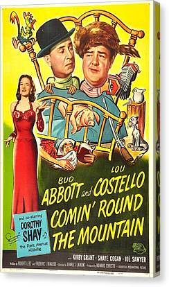 Comin Round The Mountain, Us Poster Canvas Print by Everett