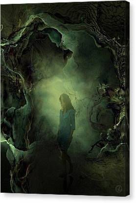 Coming Back From Dreamland Canvas Print by Gun Legler