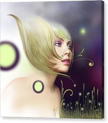 Coming Of Spring - Equinoxes Canvas Print by Anna Ewa Miarczynska
