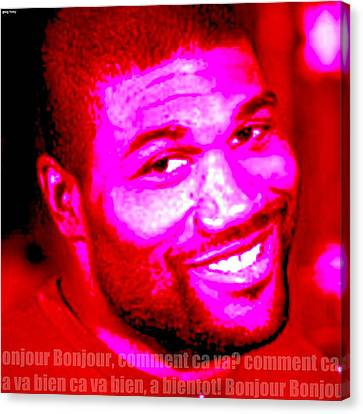 Comment Ca Va Rampage Jackson Canvas Print by Greg Hoey