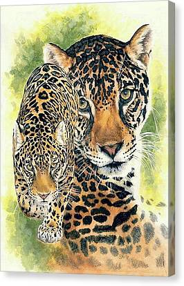 Compelling Canvas Print by Barbara Keith