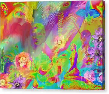 Complete Lovely Mayhem Canvas Print by Michelle Wiarda