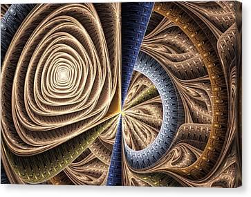 Complexity Canvas Print by Anastasiya Malakhova