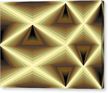 Composition 232 Canvas Print by Terry Reynoldson