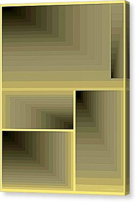 Composition 70 Canvas Print by Terry Reynoldson