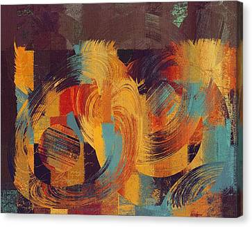 Composix - 033100100act Canvas Print by Variance Collections