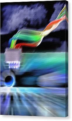 Computing 2 Canvas Print by Steve Ohlsen