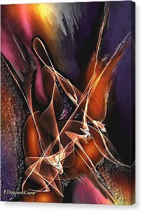 Concerto Canvas Print by Francoise Dugourd-Caput