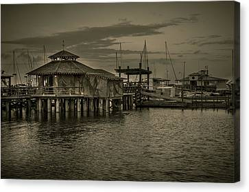Conch House Marina Canvas Print by Mario Celzner