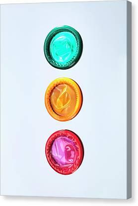 Condoms Canvas Print by Tek Image