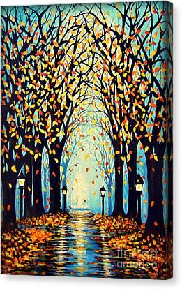 Confetti Canvas Print by Janine Riley