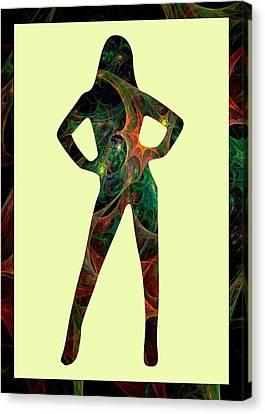 Confident Canvas Print by Anastasiya Malakhova