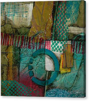 Conflict Of Space And Time Canvas Print by Laura  Lein-Svencner