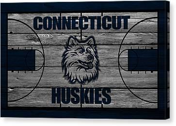 Connecticut Huskies Canvas Print by Joe Hamilton