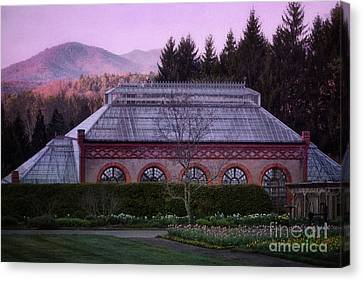 Conservatory At Biltmore Estate Canvas Print by Doug Sturgess