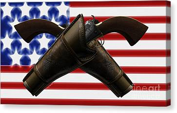 Constitutional Rights Canvas Print by Cheryl Young