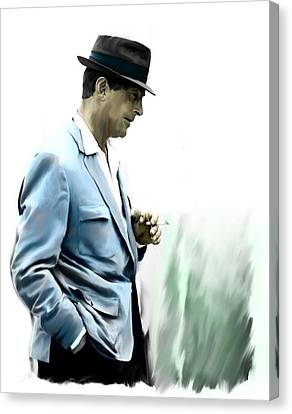 Contemplation IIi Dean Martin  Canvas Print by Iconic Images Art Gallery David Pucciarelli