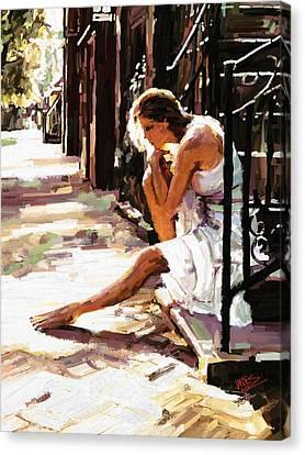 Contemplation Canvas Print by James Shepherd