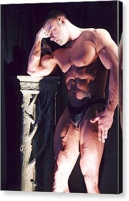 Contemplation Of Hercules Canvas Print by Jake Hartz