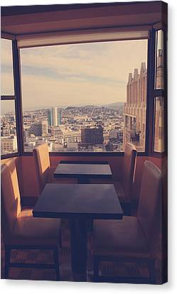Continental Breakfast Canvas Print by Laurie Search
