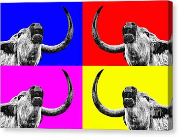 Coo Pop Art Too Canvas Print by John Farnan