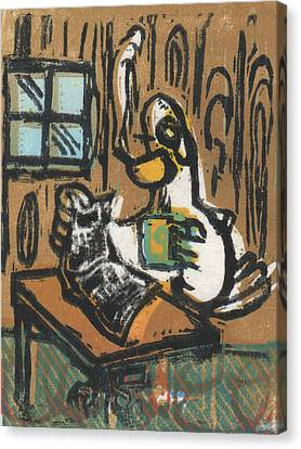 Cooked Goose Canvas Print by Mathew Luebbert