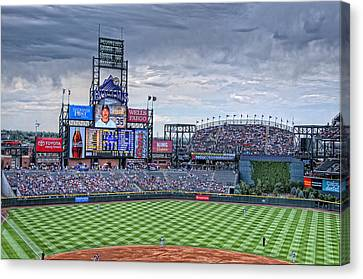 Coors Field Canvas Print by Ron White