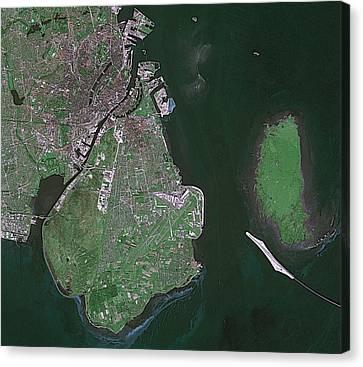Copenhagen Canvas Print by European Space Agency/cnes, Spot Image