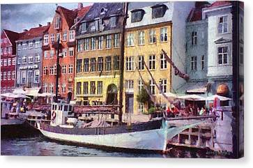 Copenhagen Canvas Print by Jeff Kolker