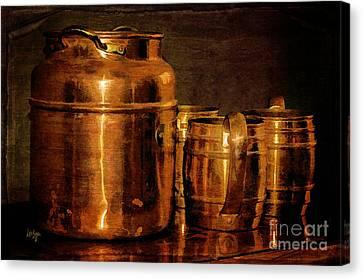Copper Canvas Print by Lois Bryan