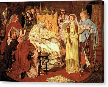 Cordelias Portion, 1867-75 Canvas Print by Ford Madox Brown