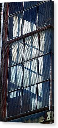 Corner Office Canvas Print by Jenny Bowman