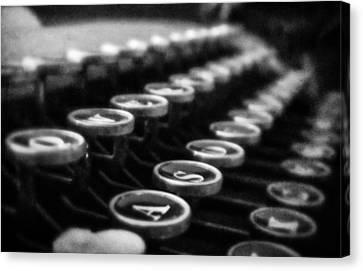 Corona Zephyr Keyboard Canvas Print by Jon Woodhams
