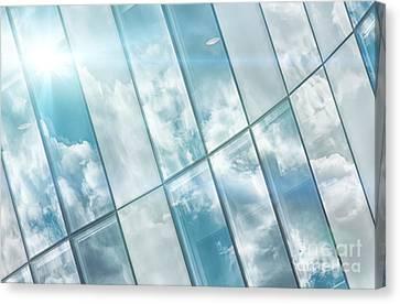 Corporate Flare Reflection Canvas Print by Antony McAulay