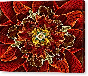 Corsage Canvas Print by Janet Russell
