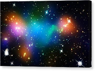 Cosmic Glow Canvas Print by The  Vault - Jennifer Rondinelli Reilly