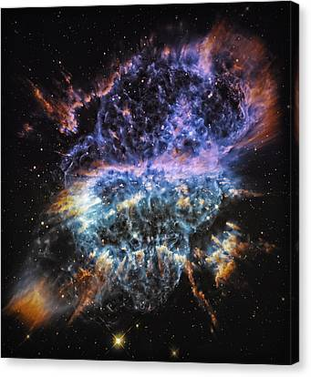 Cosmic Infinity 2 Canvas Print by The  Vault - Jennifer Rondinelli Reilly