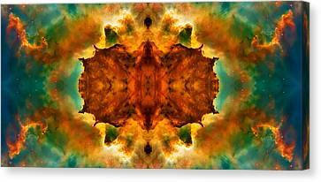 Cosmic Kaleidoscope 2  Canvas Print by Jennifer Rondinelli Reilly - Fine Art Photography